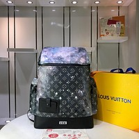LV Louis Vuitton MEN'S MONOGRAM Galaxy CANVAS ALPHA PACKBACK BAG