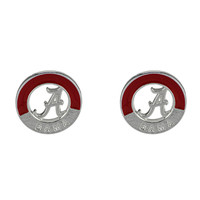 Alabama Crimson Tide Two-Tone Post Earrings