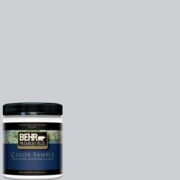 BEHR Premium Plus, 8 oz. #760E-2 Manhattan Mist Interior/Exterior Paint Sample, 760E-2PP at The Home Depot - Mobile
