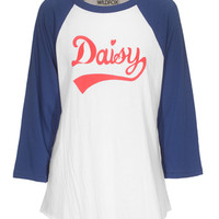 WILDFOX  Daisy Field ´79 City Night Raglan-Longsleeve mit Print - What's new
