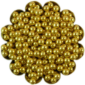 Gold Dragees 4MM