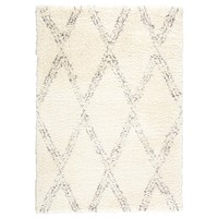 Minka Faolen Mka01 Ivory/Light Gray Area Rug