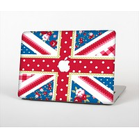 """The Fun Styled Vector London England Flag Skin Set for the Apple MacBook Pro 15"""""""