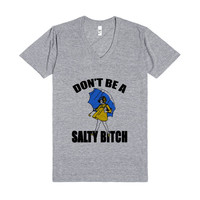 salty bitch vneck-fly