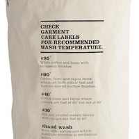 house doctor Wash Instructions (60l, 50cm)