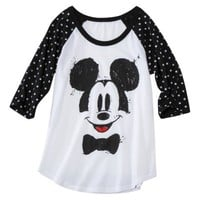 Juniors Mickey Mouse Graphic Tee - Black