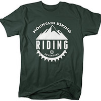 Shirts By Sarah Men's Mountain Biking T-shirt Riding Adventure Shirts