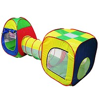 Baby Play House Pop-up Play Tent Children Tunnel Kids Adventure House