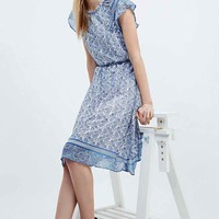 Little White Lies Missy Print Midi Skirt in Blue - Urban Outfitters
