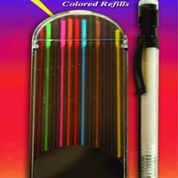 The Classics Mechanical Pencil with 12 Color Refill Kit (TPG-330)