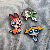 Powerpuff Girls Pins