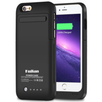 iPhone 6 Battery Charging Case External Battery Backup Charger Case 3500mAh with
