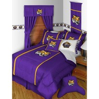 Sports Coverage Inc. Louisiana State University Tigers MVP Bedding Series