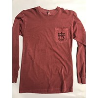 Bare Wires Pigment Dye L/S Pkt Tee