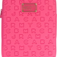 Marc By Marc Jacobs Brand Embossed Ipad Case