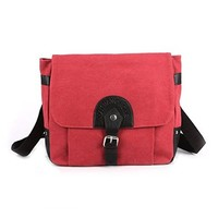 Vere Gloria Casual Canvas Cross Body Bag for Man Business Fashion Messenger Bags