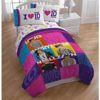 One Direction (1D) Patchwork Bedding and Room Décor