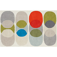 hemisphere rug in all rugs/pillows   CB2