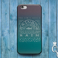 Life Quote Rainbow Rain Case Cute Phone Cover iPod Touch iPhone Movie Book Cool