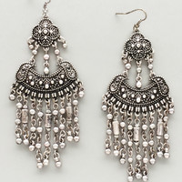 Silver Banjara Earrings