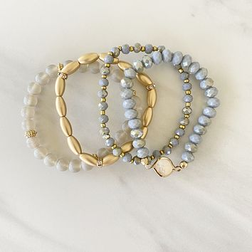 Up Your Game Stone Bracelet