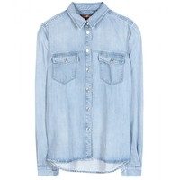 seven for all mankind - classic western denim shirt