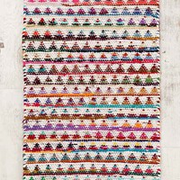 Magical Thinking Triangle Rag Rug
