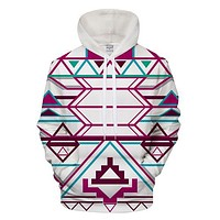 Psychedelic Strawberry Trippy Hoodie