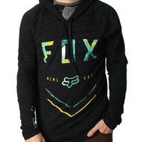 Fox Racing Men's Dirt Empire Knit Hooded Raglan Shirt
