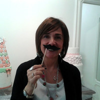 Set of Six Mustaches on Sticks Wedding Photo Props, Photo Booth Props, Bridal Party Photo Ideas