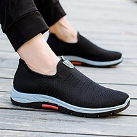 Man Casual Shoes Outdopor Fashion Sneakers For Men Brand Trendy Breathable Tenis Masculino Adulto Summer Flats Walking Footwear