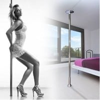 MegaBrand Portable Fitness Exercise Stripper Spinning Dancing Pole, 9.3-Feet