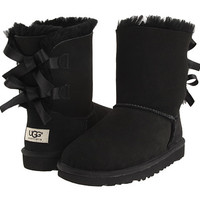 UGG Kids Bailey Bow (Little Kid/Big Kid) Black - Zappos.com Free Shipping BOTH Ways