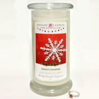 Season's Greetings - Jewelry Greeting Candles