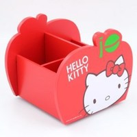 Hello Kitty Swing Storage Box: Red Apple