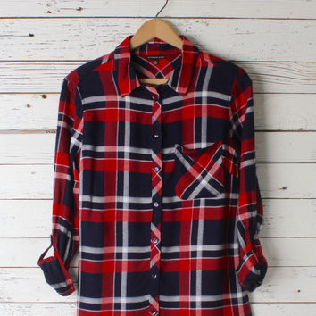 Lucy Plaid Button Down