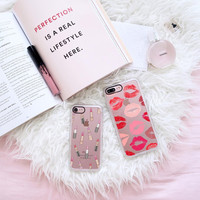 Hot iPhone 7 & 7 Plus Case (Lips Don ?t Lie Pattern) by Casetify