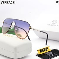 Versace Stylish Women Men Shades Eyeglasses Glasses Sunglasses 1#