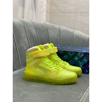 LV Louis Vuitton 2021 NEW ARRIVALS Men's And Women's TRAINER High Top Sneakers Shoes