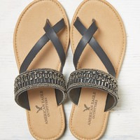 AEO BEADED SLIDE SANDAL