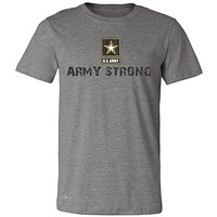 "Zexpa Apparelâ""¢ Army Strong US Army Unisex - Men's T-shirt Military Star Cool Tee"