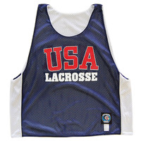 USA Lacrosse Sublimated Reversible Pinnie
