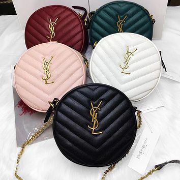YSL Bag Saint Laurent Bag Round Bag Shoulder Bag Crossbody Bag