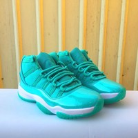 Best Deal Online Air Jordan 11 Retro Mint Green Women Sneakers