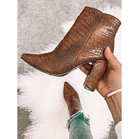 Steal The Spotlight Crocodile Booties
