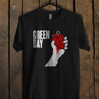 Green Day Logo T Shirt Mens T Shirt and Womens T Shirt *
