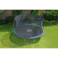 Walmart: BouncePro 14' Trampoline with Enclosure and Game, Dark Blue (was $267)