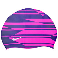 Nike Shadow Stripe Silicone Cap at SwimOutlet.com