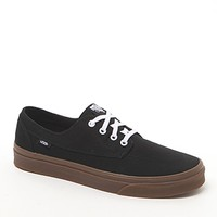 Vans Brigata Canvas Gumsole Shoes - Mens Shoes - Black