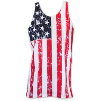 Men's USA Men's Distressed Tank Top